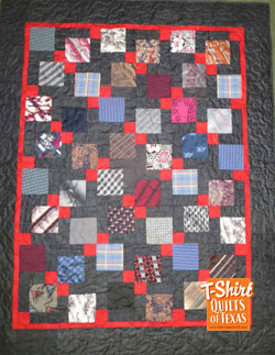 Disappearing Nine Patch Memory quilt